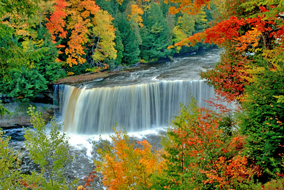 Upper Tahquamenon Falls near Newberry, MI | Tahquamenon Falls | Waterfalls in the UP