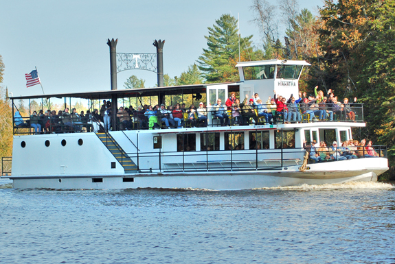 Tahquamenon Falls Boat Tours and Toonerville Trolley